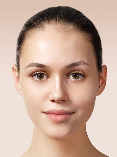 Before-İlknur Makeup